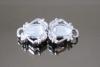 BL-227 Alamaro in metallo colore nikel con pietre cristallo
